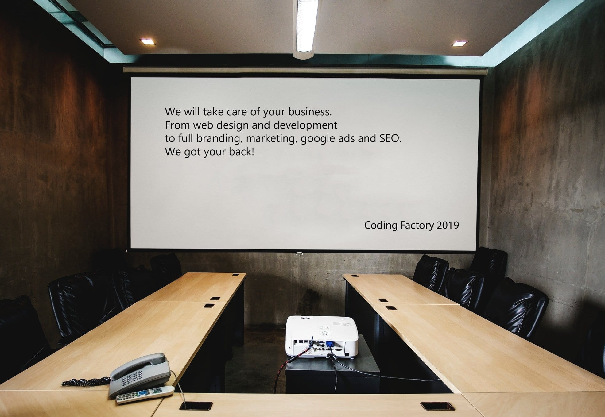 Quote from Coding Factory Ceo
