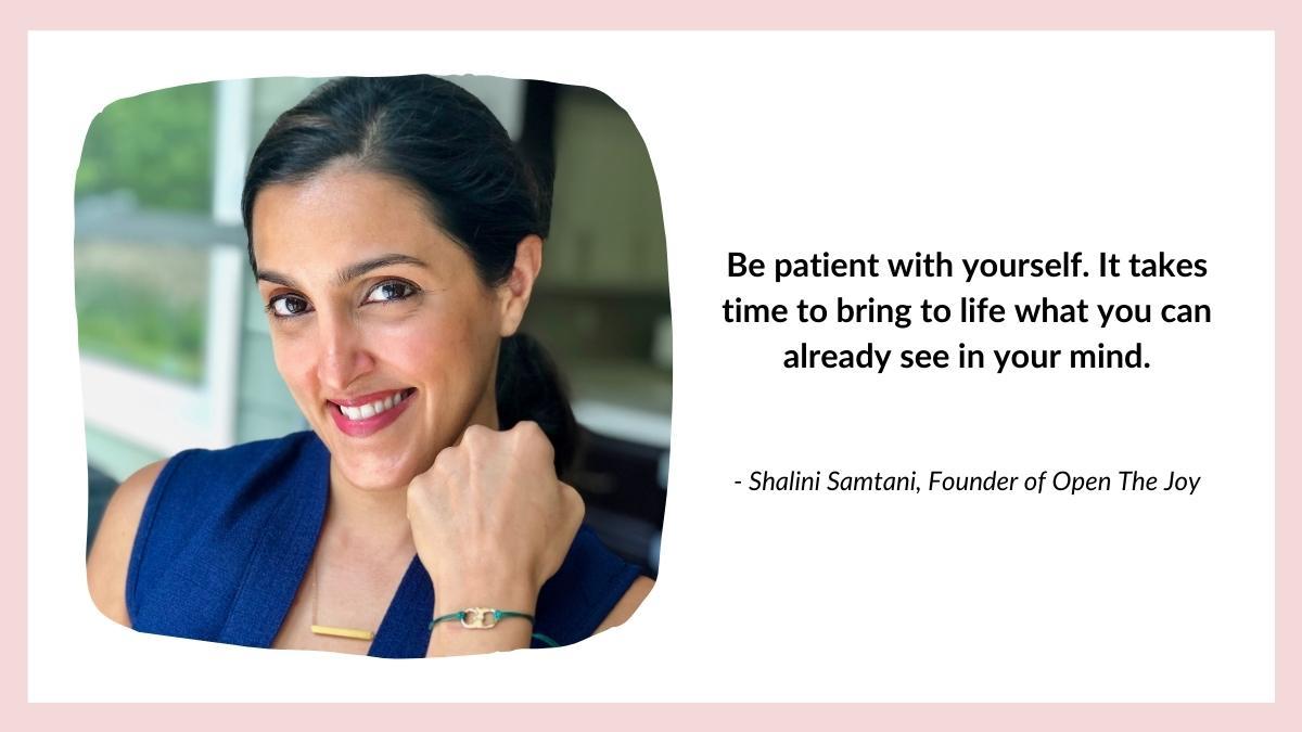 Shalini Samtani quote