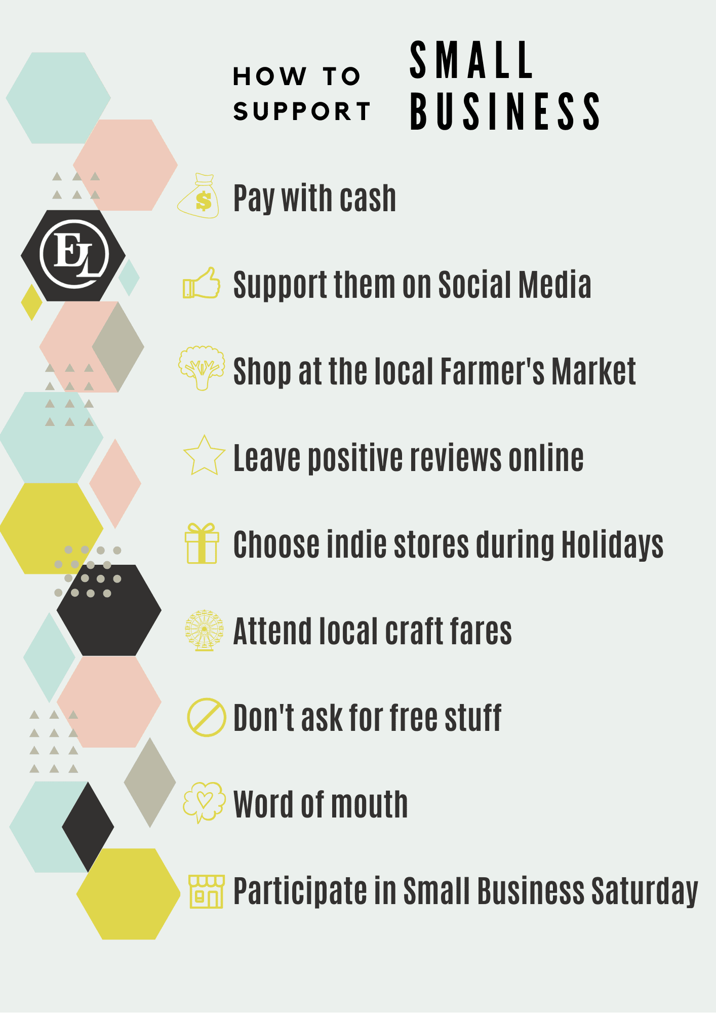 How to support small businesses