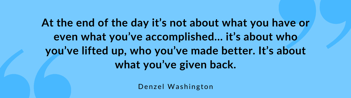 Quote Denzel Washington