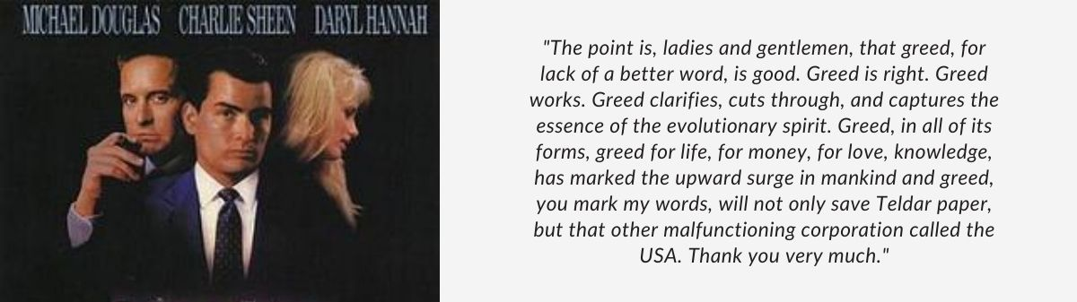 Quote from the movie Wall Street