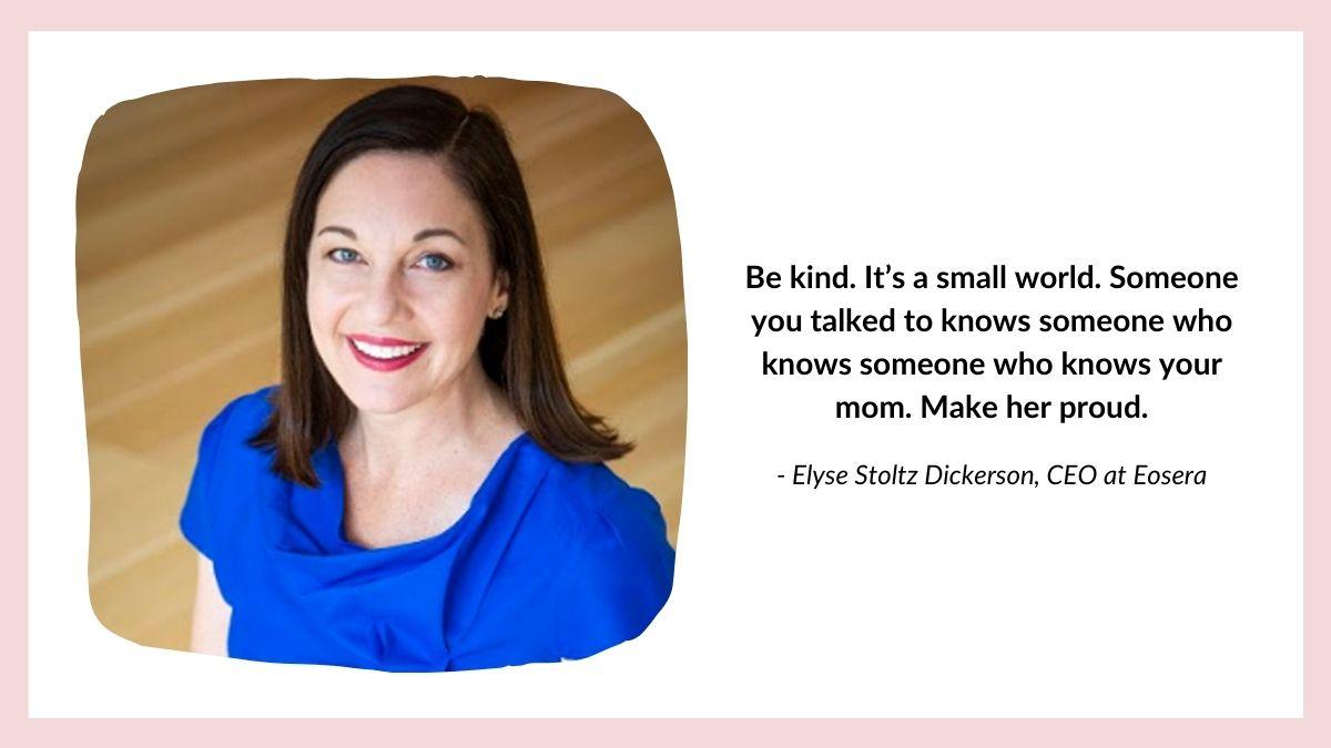Elyse Stoltz Dickerson quote