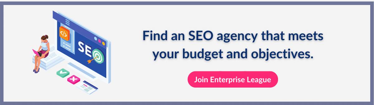Find a SEO agency on Enterprise League