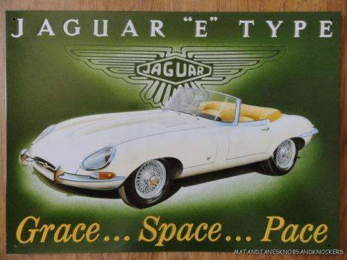 Jaguar Type-E advert
