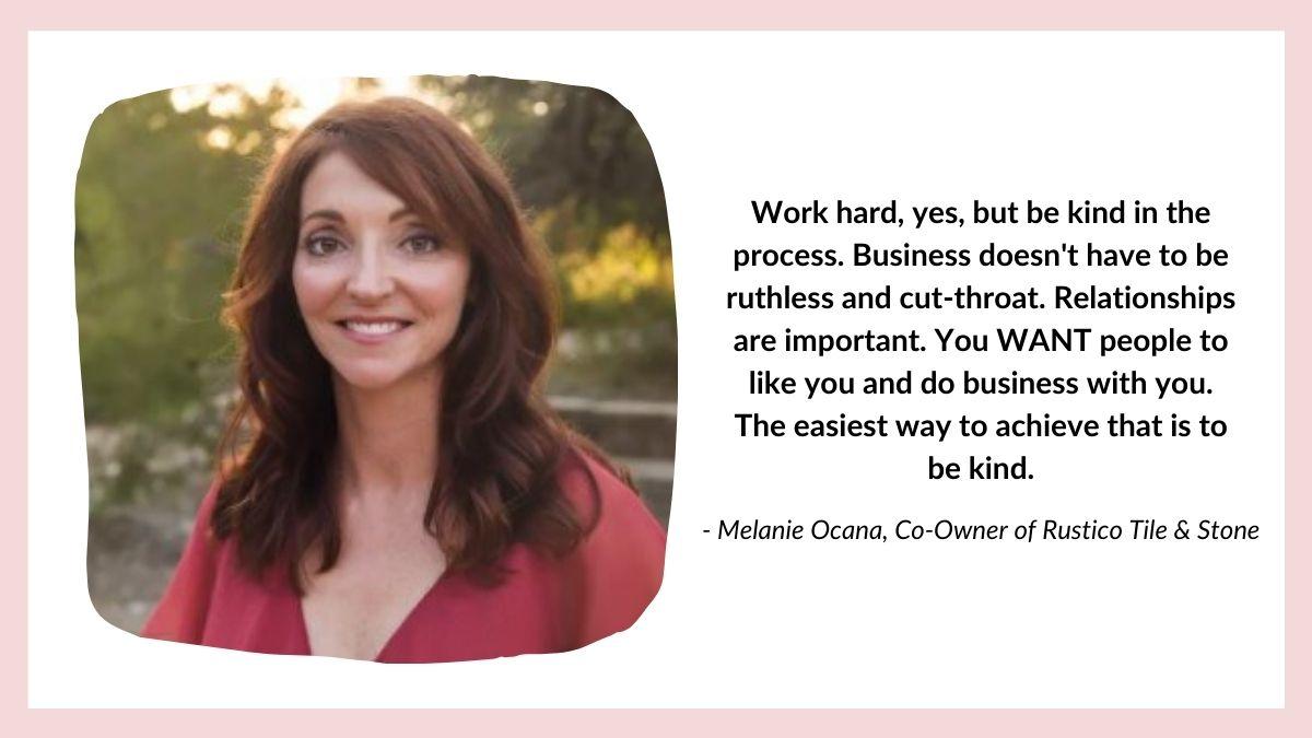 Melanie Ocana quote