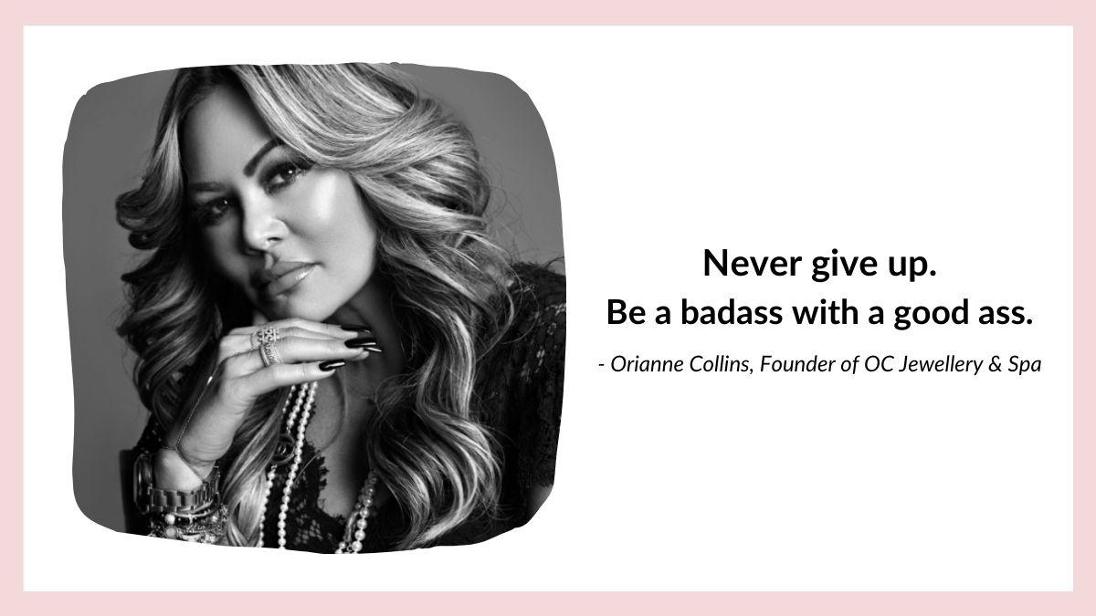Orianne Collins quote