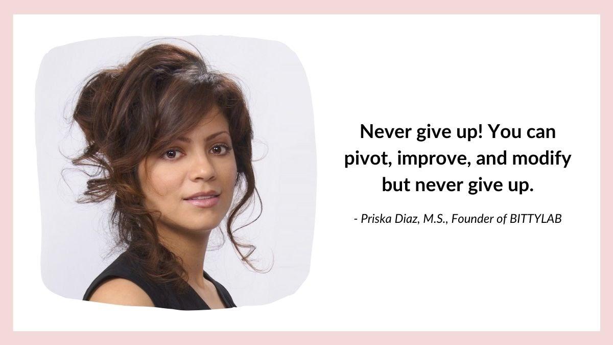 Priska Diaz quote